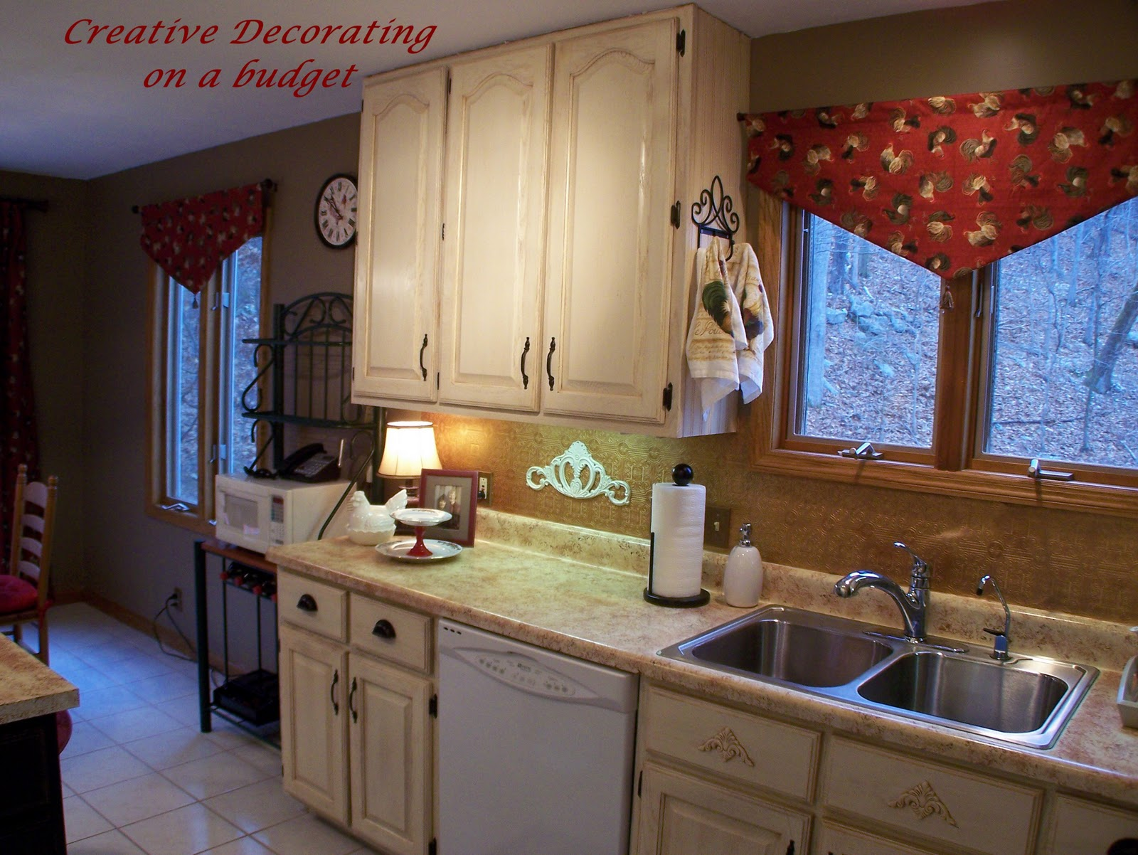 House designs school creative kitchen decorating on a budget for Creative home decorating ideas on a budget