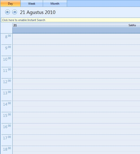 how to create a calendar in outlook 2010
