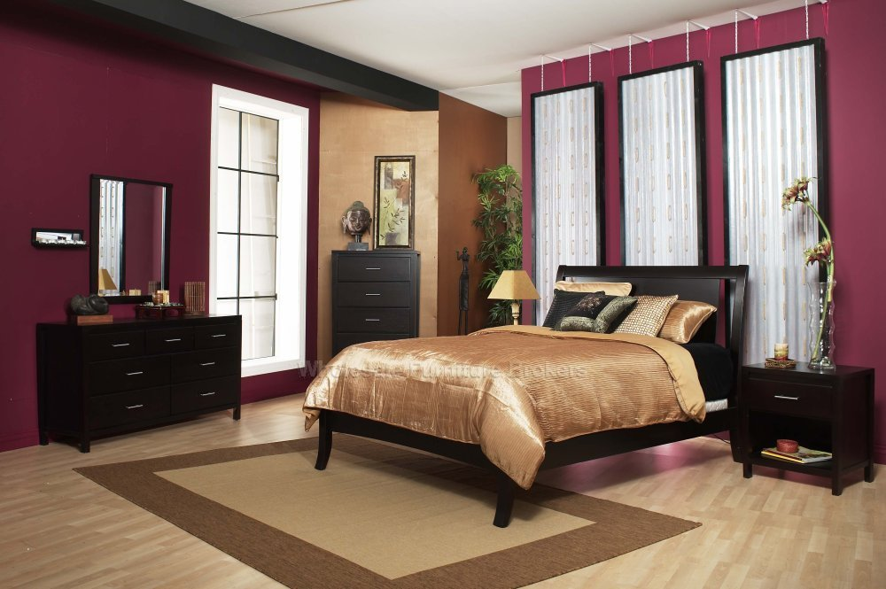Home design contemporary bedroom - Decorating bedroom furniture ...
