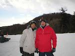 Snowboarding at Yeti