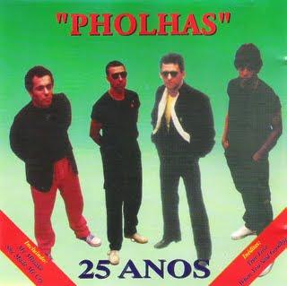Capa do CD Pholhas - 25 Anos