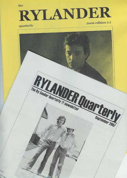 New print RYLANDERs