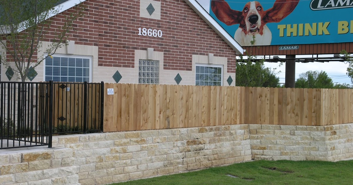 Fence Project Of The Week Wood Amp Iron Fence Combo