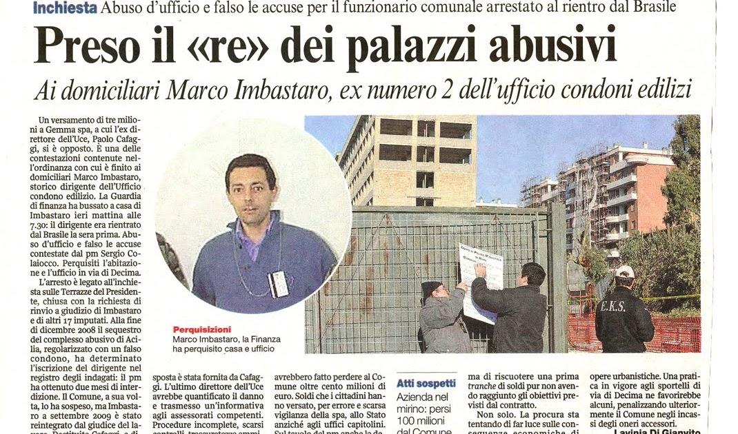 Tg roma talenti a proposito di irregolarita 39 e violazioni for Ufficio decoro urbano comune di roma