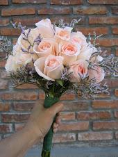 Ramo redondo rosas