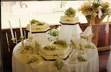 Torta de casamiento/15 años