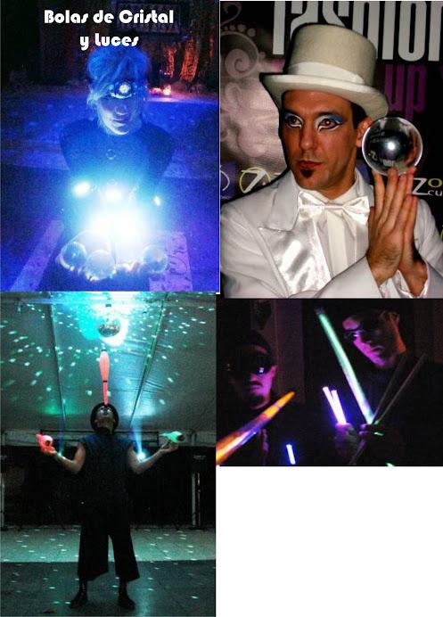Bolas de Cristal y Luces