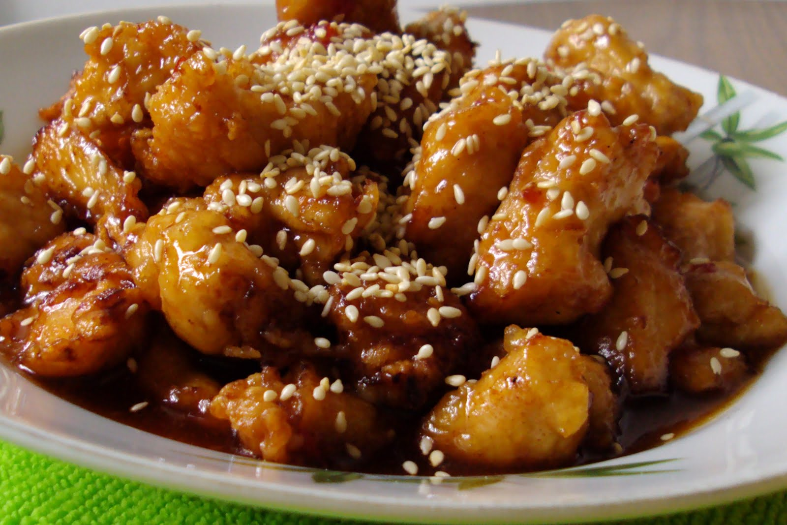 YUMMY BAKES: honey sesame chicken