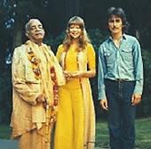 Srila Prabhupada y George Harrison
