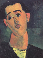 Амедео Модильяни - Портрет Хуана Гриса