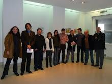 Humoristas e Integrantes del Programa de Recuperación y Conservación del Patrimonio Cultural