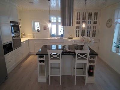 Saritas svalen drøm: her er kjøkkenet vårt.