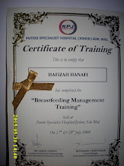 BREASTFEED COURSE CERTIFICATE