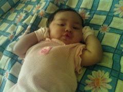 Nur Darwisya Damia 4 months on 6/12/09