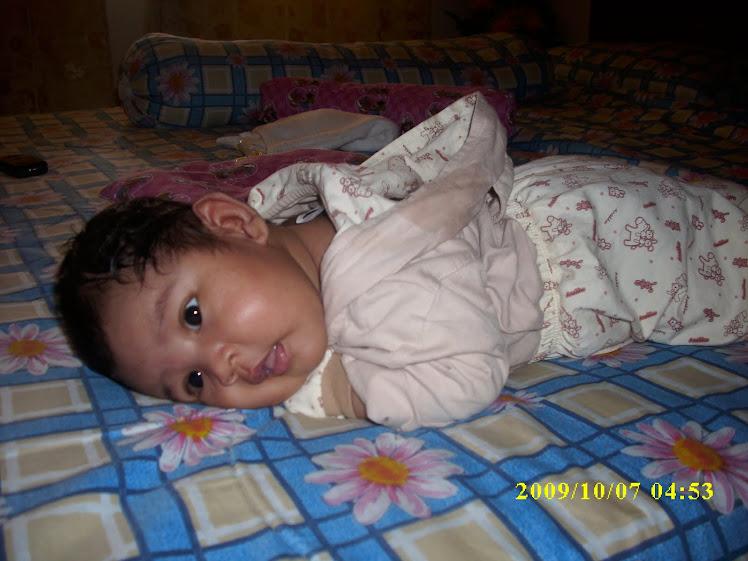 Nur Darwisya Damia 2 months on 6/10/09