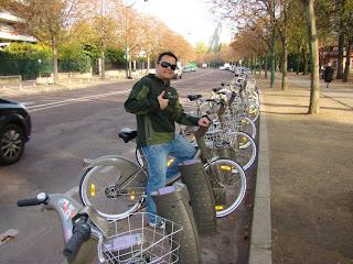 """Paris Vélib Bicicleta Bike França """"Bois de Vincennes"""""""