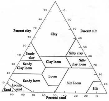 Shelburne horticultural society pot pourri of gardening for Soil triangle
