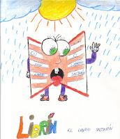 Librín, a mascota da biblioteca