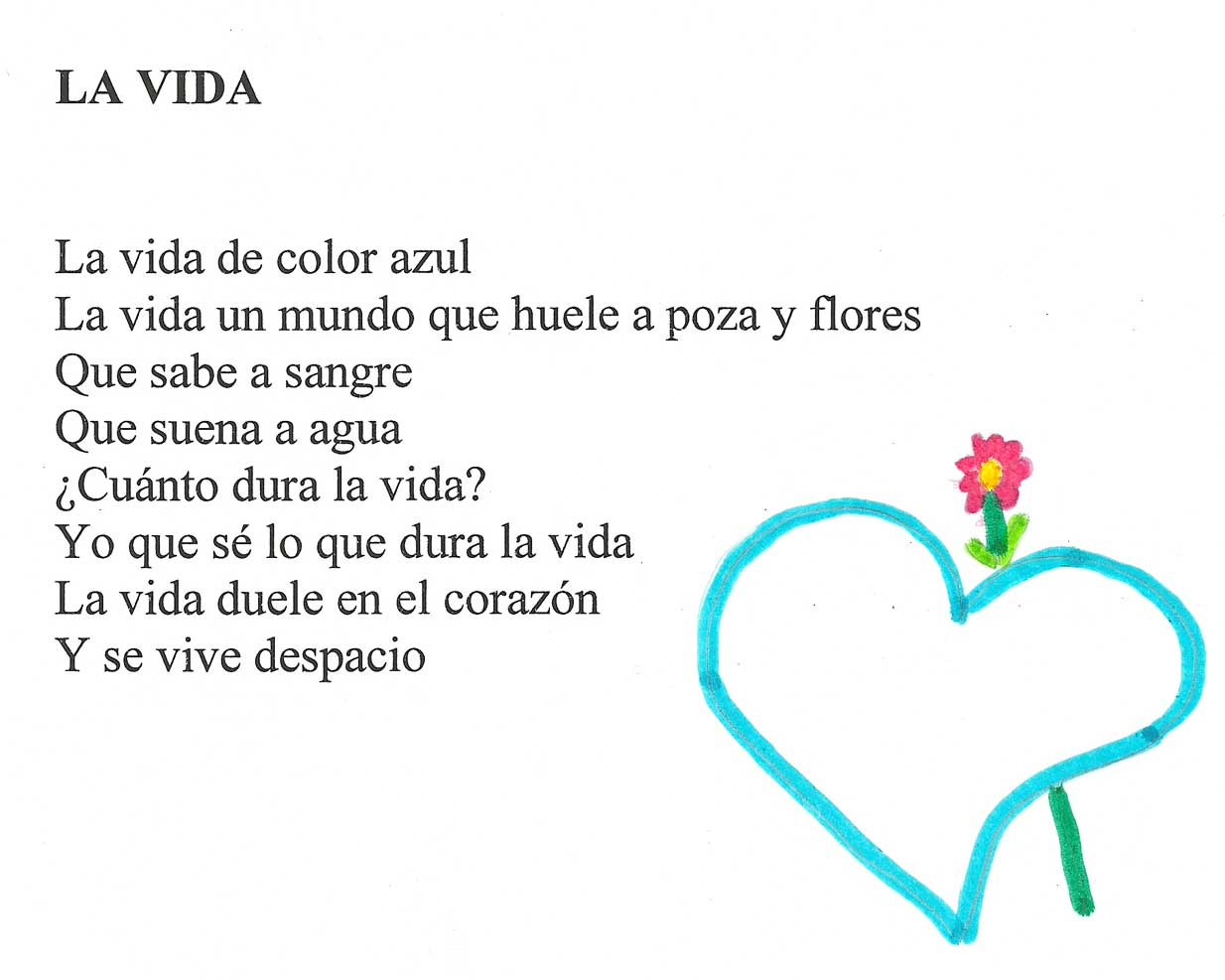 Poemas para ninos de primaria de quinto grado