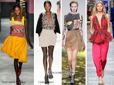 2010 yaz desenli kumas moda trend 1