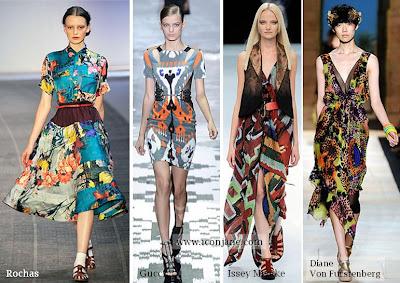 2010 yaz desenli kumas moda trend 4
