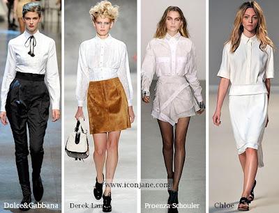 beyaz gomlek modelleri 2010 yaz sezon modasi 6