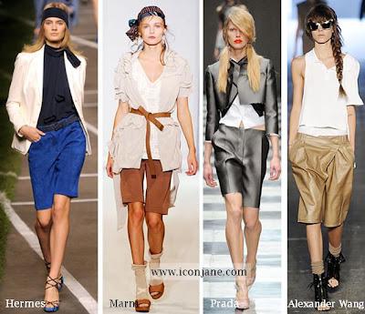 2010 yaz uzun sort modelleri moda trend 2