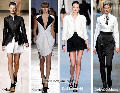 siyah beyaz moda trend 2010 yaz 4