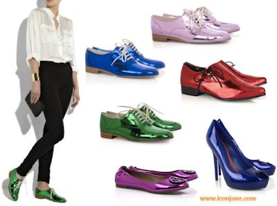 metal ayakkabilar 2010 yaz trend