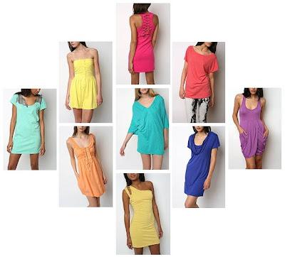 rengarenk renkli elbiseler 1