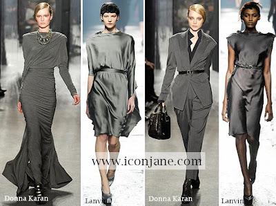 2009 2010 kis en moda renk gri 1