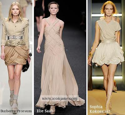 2010 yaz moda drape elbise 2