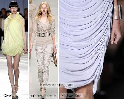 2010 yaz moda drape elbise 3