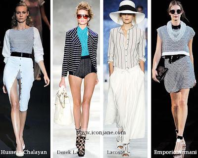 2010 yaz moda trend cizgili 2