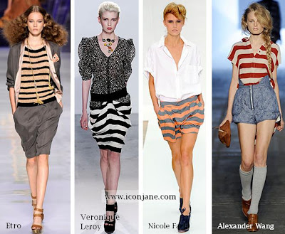 2010 yaz moda trend cizgili 1