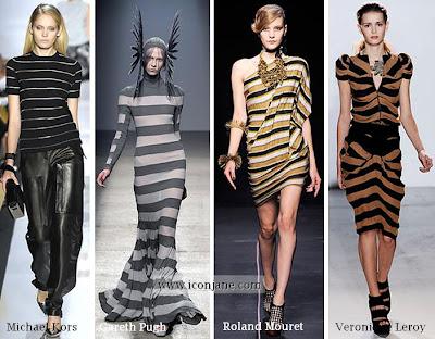 2010 yaz moda trend cizgili 4