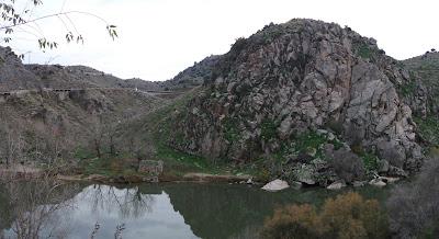 Cerro del BU - Toledo. Aunque la guía da una georreferencia, esta es más exacta N 39º51'11.0 W 004º01'10.0