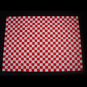 Red and White Check - Sold