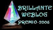 Premio BRILLANTE WEBLOG_2008