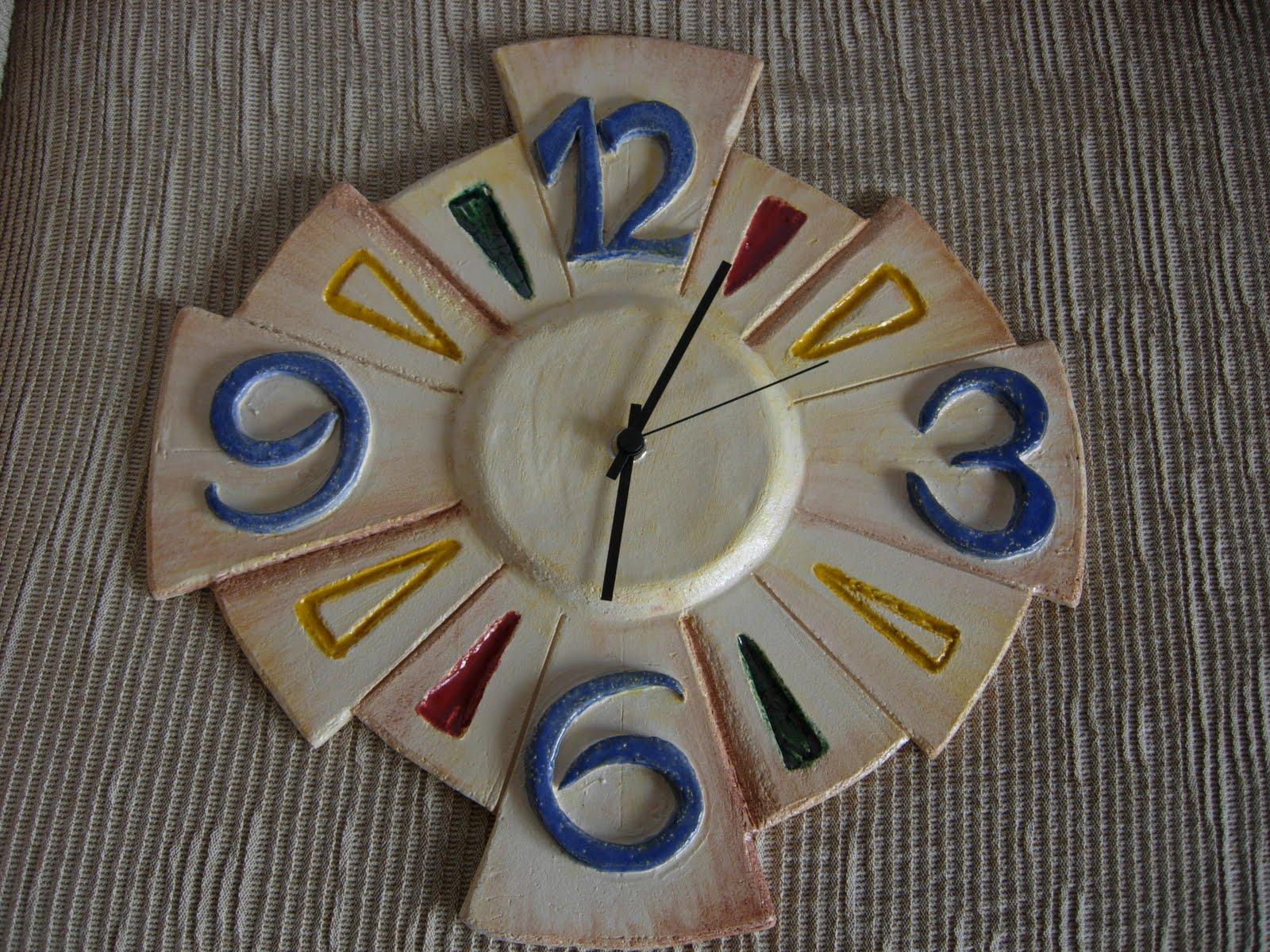 L 39 arte fra le dita orologio e specchio appena sfornati - Orologio a specchio ...