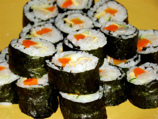 Cocina sin gluten - Cocinar sushi facil ...