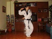Andrea Guzmán entrenando