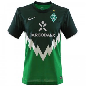 0a38f08c7 I have always fancied these Werder Bremen kits   11 12 Home   11 12 Away ...