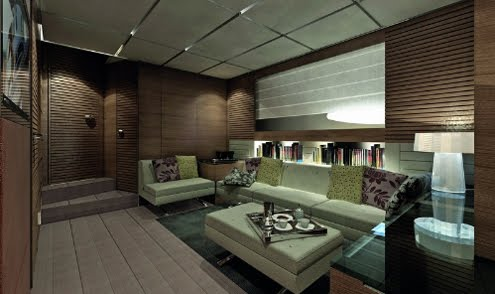 Modern luxury yacht interiors designs interior of for Boat interior design ideas home