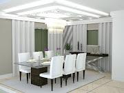 A Sala de Jantar merece um cuidado especial na hora de ser elaborada.