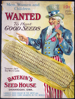 Ratekin Seed House seed catalog