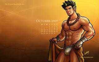 October 2009 Calendar, Rai