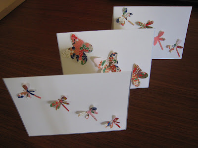summery butterflies & dragonflies tutorial