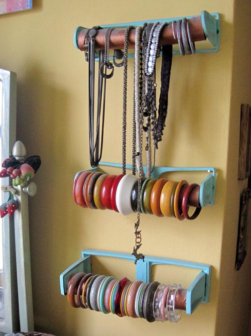 Stuff you can 39 t have bangle bracelet holders for Bangle organizer diy