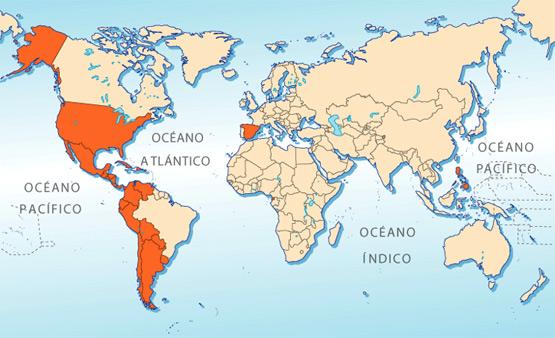 el mapa mundial. Mapa Mundi Mudo - Page 2